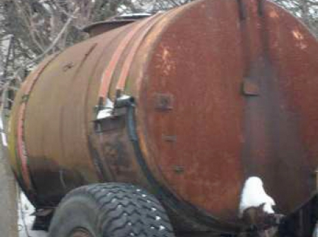 Бочка на колёсах воденая купить в Москве на Avito
