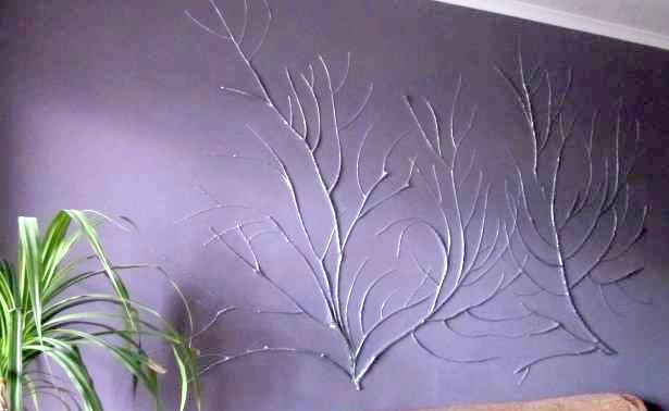 Декор стен своими руками шпаклевкой